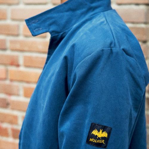 chaqueta harrington azul