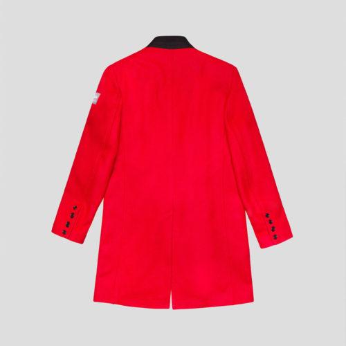 abrigo westminster rojo