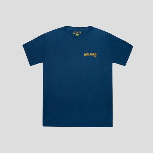 camiseta carnaby azul