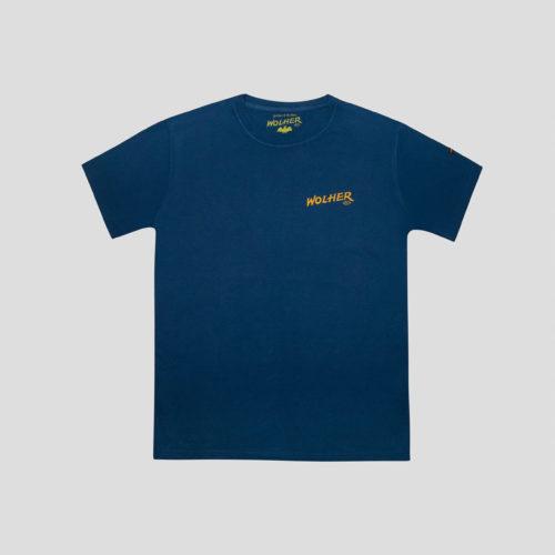 camiseta hackney azul