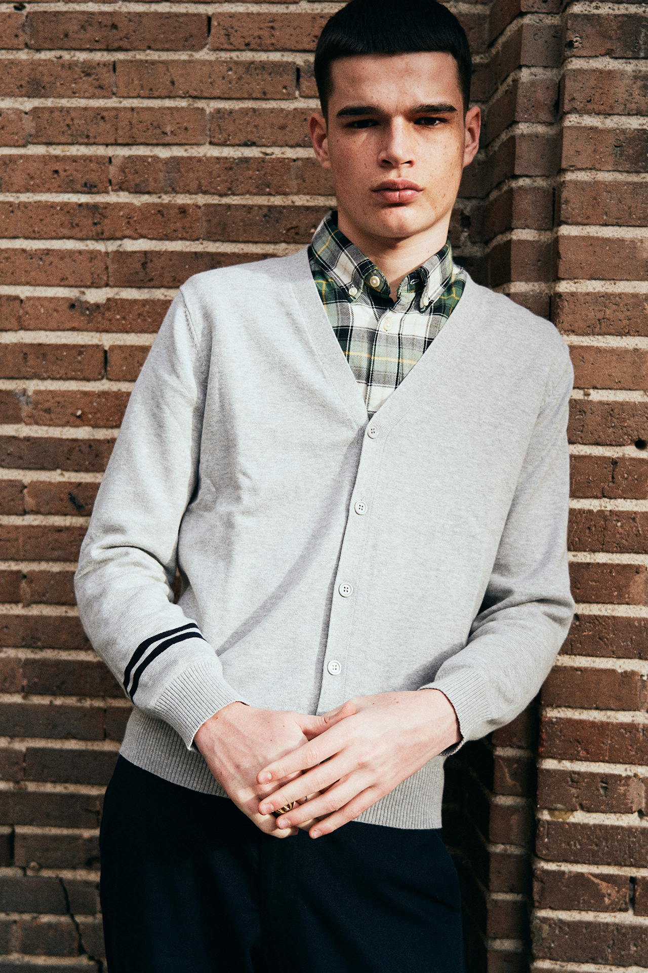 NOTHING HILL KNIT JACKET GREY