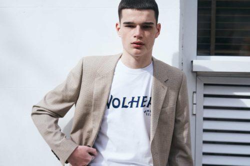 camiseta hombre wolher