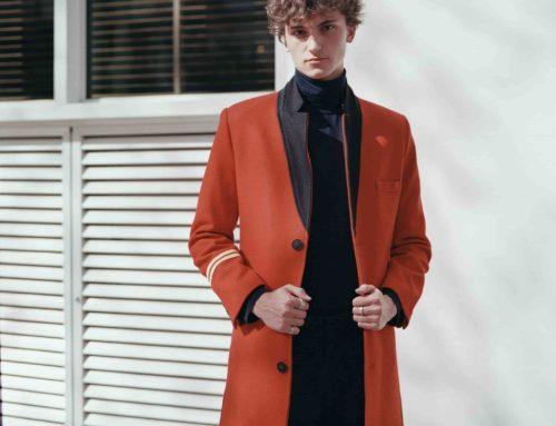 Abrigo rojo wolher