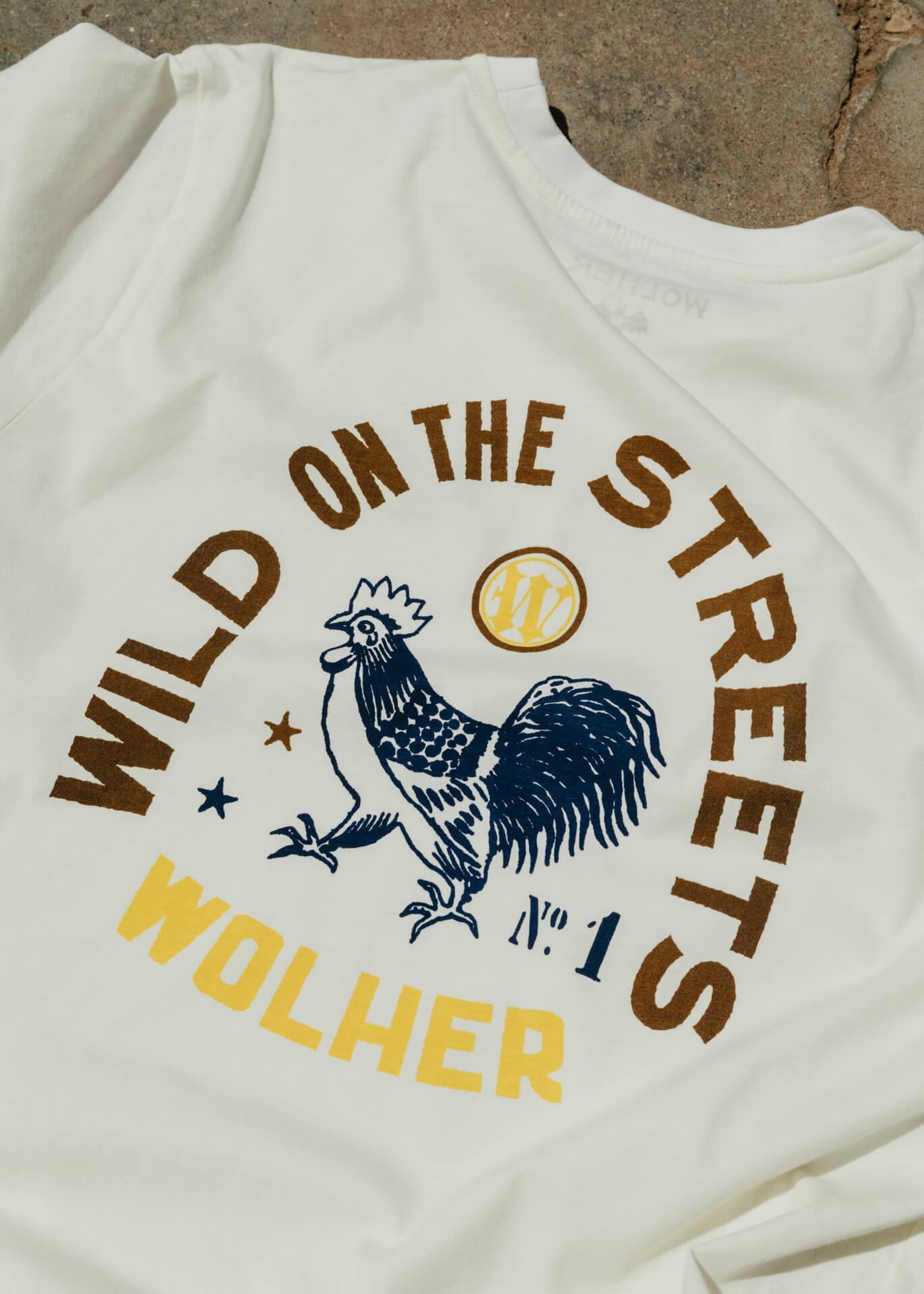 WILD STREETS TSHIRT